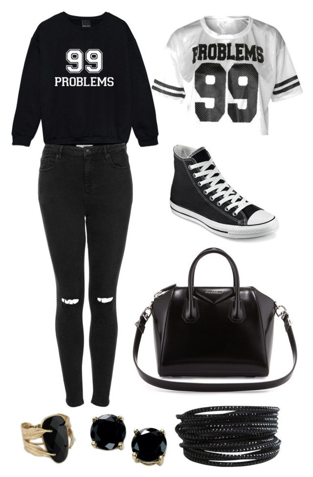 99 Problems By Chloebeauty101 Liked On Polyvore Featuring Moda Topshop Converse Givenchy Pieces E B Brilliant Med Billeder