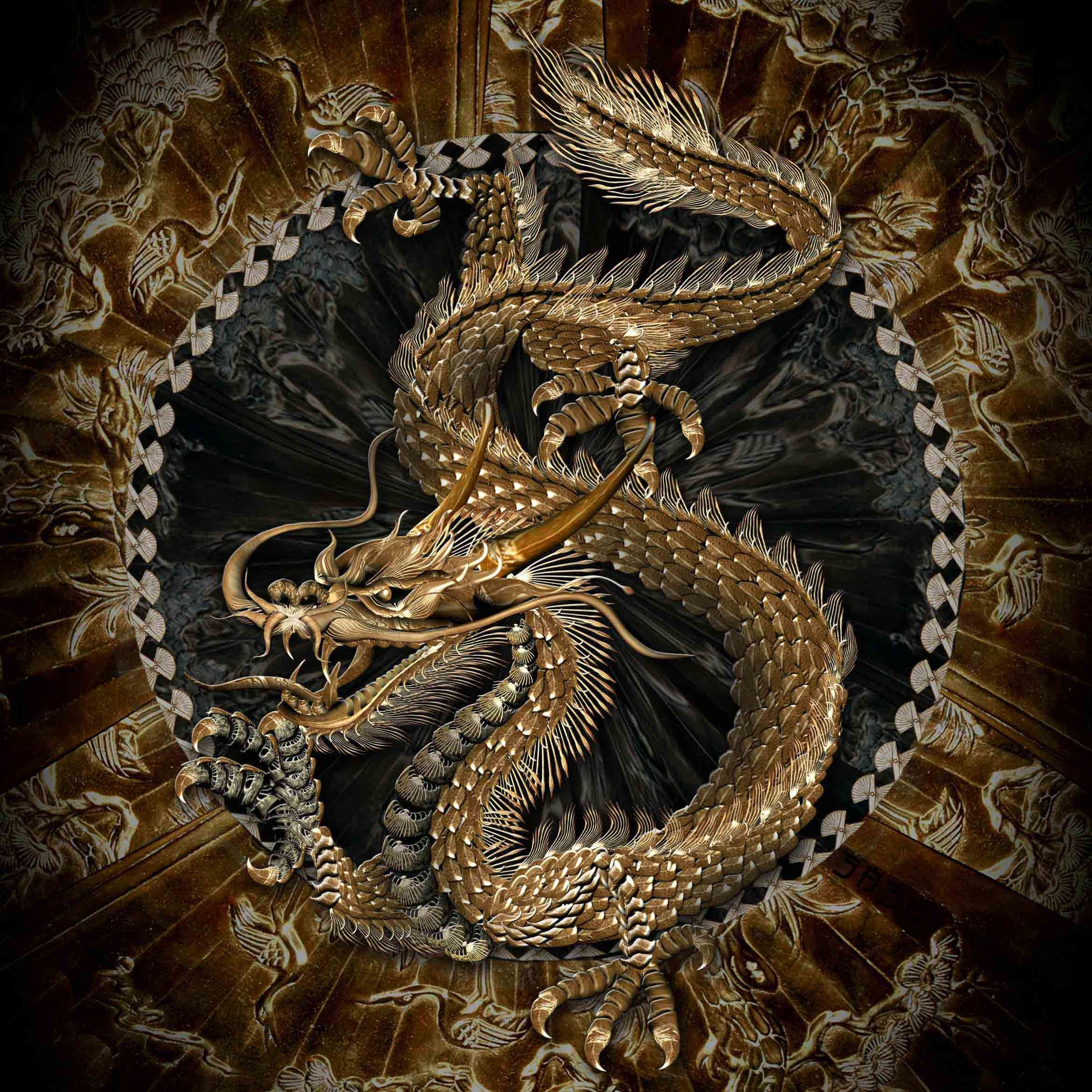 Japanese Tattoo Wallpapers: Dragon, Dragon