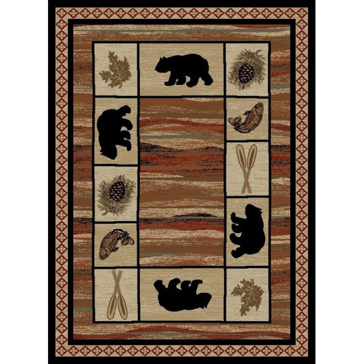 The Vogel Bear Area Rugs Have A Soft Finish And A Plush 10mm High Pile Height Will Provide Years Of Warmth And Pleasure These Bear Area Rug Area Rugs Bear Rug