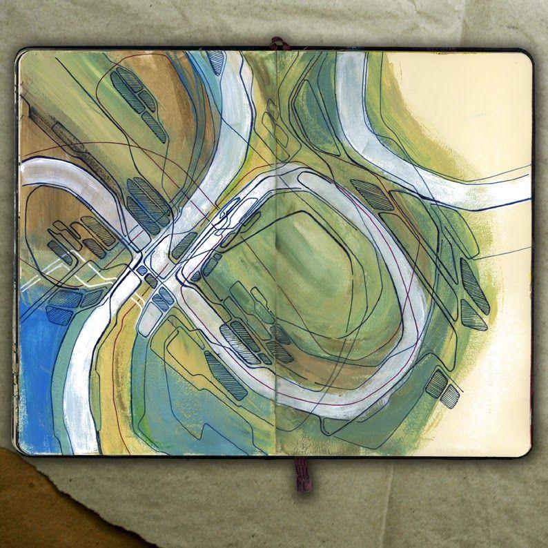 rougart drawing: PORT PLANNING_Drawing, 2015_Mariasun Salgado