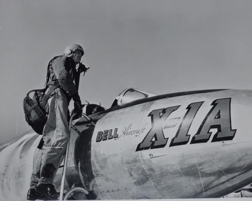 """The Bell X-1A first tested #OTD in 1953 by Jean """"Skip"""" Ziegler at Edwards AFB http://go.nasa.gov/1KOg5iT"""