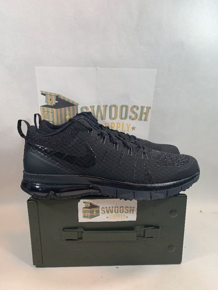 purchase cheap 33405 2d44f Nike Air Max TR180 723972-001 Black Anthracite Training Workout Men Shoes  Sz 15 Nike AthleticSneakers