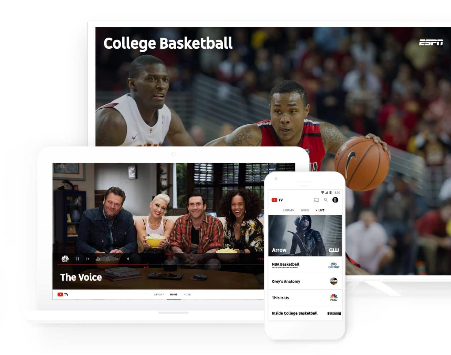 YouTube TV arrives to shake up streaming world Live tv