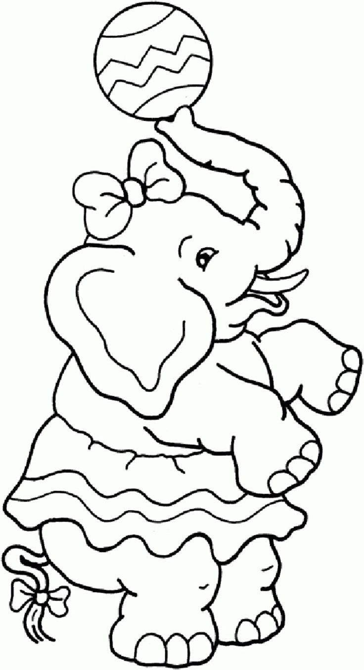 download Elephant Coloring Pages for kids | Elephant coloring page ... | 1353x736
