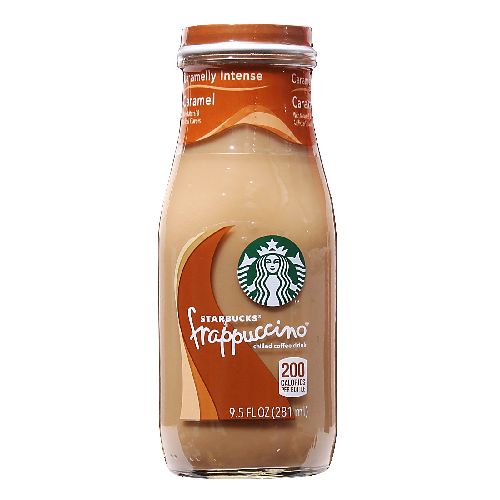 Starbucks Frappuccino Caramel Chilled Coffee Drink