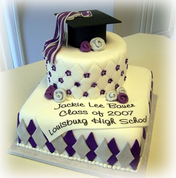 I want a graduation cake like this except without the flowers and ...