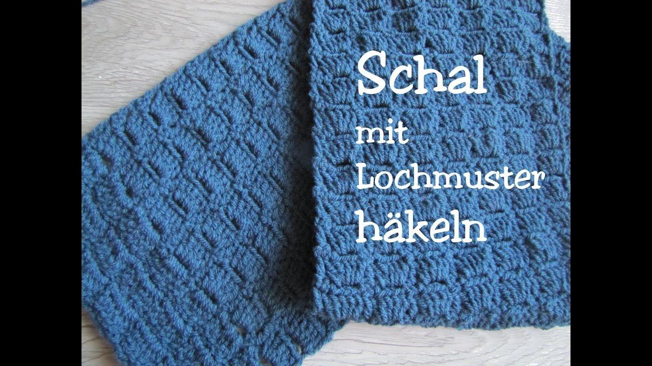 Einfachen Schal Häkeln Mit Lochmuster Sal Modelleri Pinterest