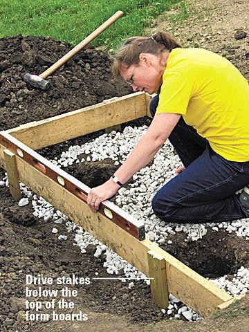 Best How To Pour A Concrete Landing Pad Concrete Pad Diy 400 x 300