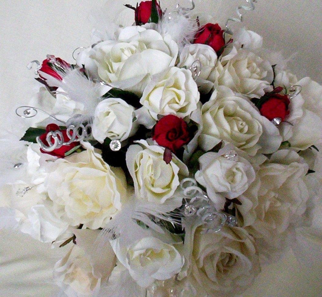 Cheap silk bridal bouquets bridal bouquets pinterest silk cheap silk bridal bouquets izmirmasajfo