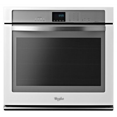 whirlpool gold 30 electric single oven built in white on wall ovens id=70009