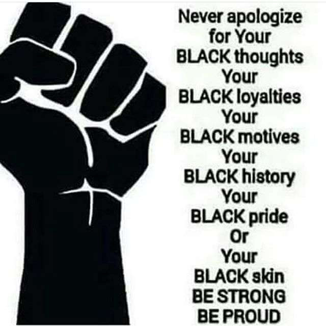 So Unapologetic ✊ ❤  #unapologeticallyafrikan #unapologeticallyblack #panafrican #panafricanism #wakeup #staywoke #openyourmind #thirdeye #ankh #ancientkemet #ancientegypt #unlocktheknowledge #knowledgeispower #knowyourself #knowthyself #knowtheenemy #africanconsciousness #blackconsciousness #readeveryday #knowyourhistory #problack #hellablacl #hellaproud #freeyourmindfrommentalslavery