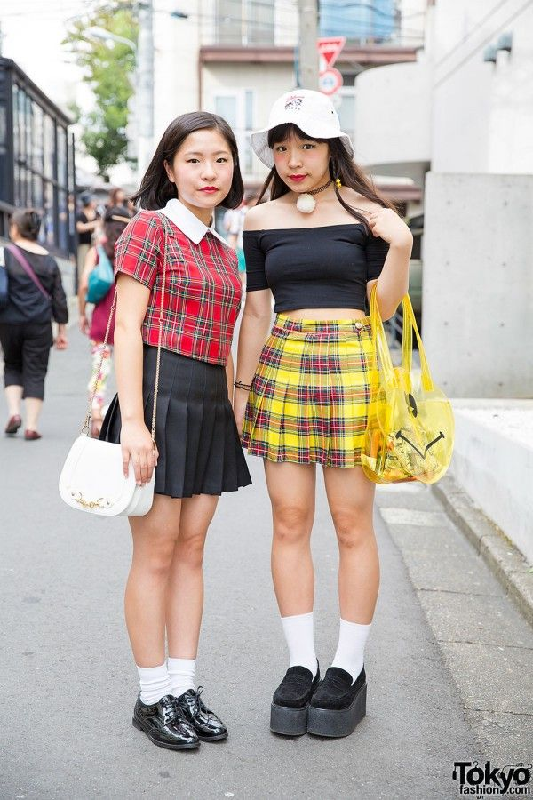 33319005a Plaid - Tokyo Fall Fashion Trend | playing dress-up in 2019 ...