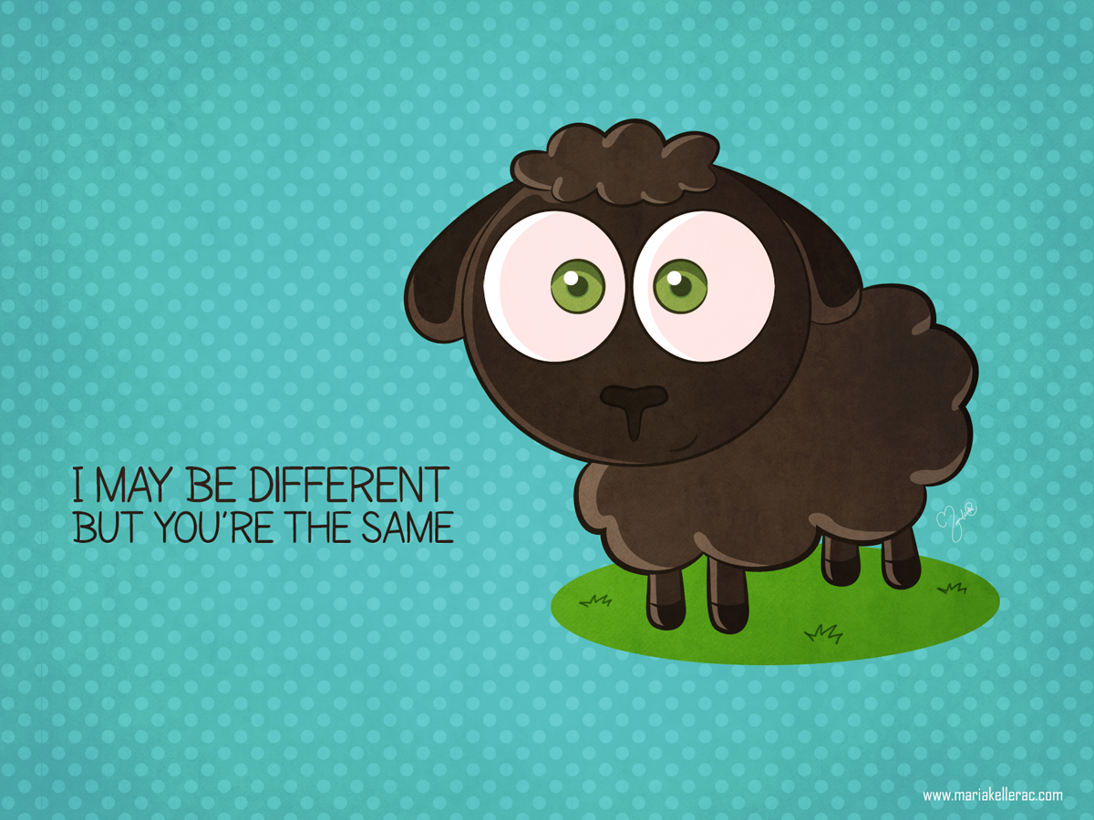 Pin En Oveja Negra Black Sheep