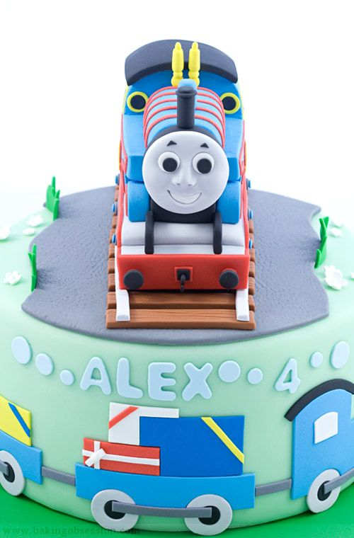 Thomas The Tank Engine Amazing Detail On This Cake