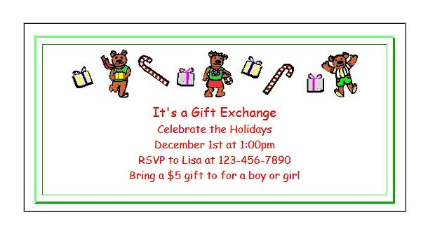 Free Printable Christmas Party Invitations for Kids Party invitations