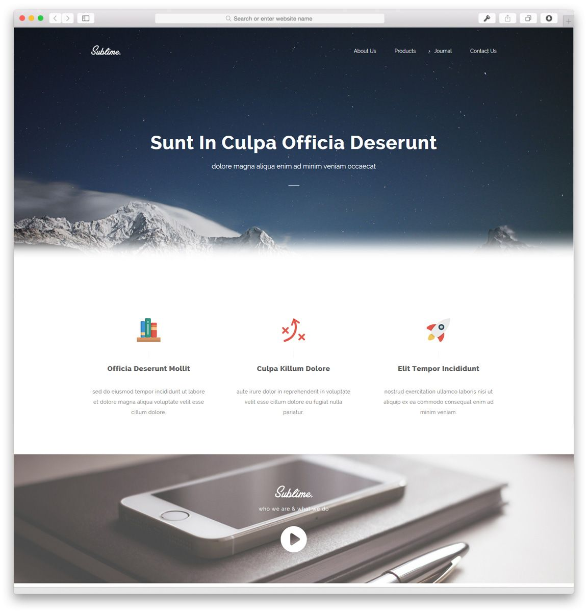 40 Best Free Responsive Html5 Css3 Website Templates Themes