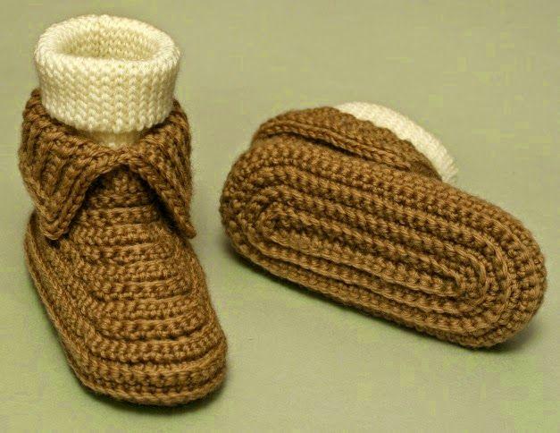 5 Free Easy Crochet Slipper Patterns Easy Crochet Slippers