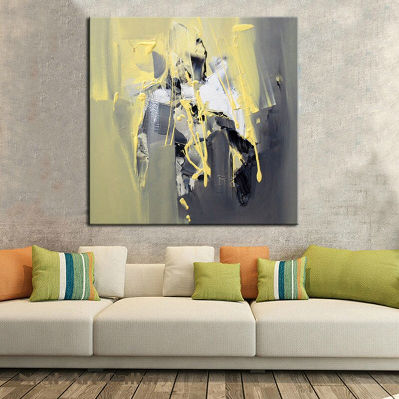 incroyable abstrct mur art peinture sur toile 100 peint la main par acrylique parfait mur art. Black Bedroom Furniture Sets. Home Design Ideas