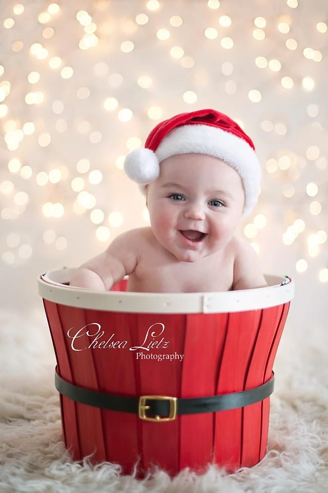 Over 40 adorable christmas pictures will help you plan an amazing santa baby photo shoot