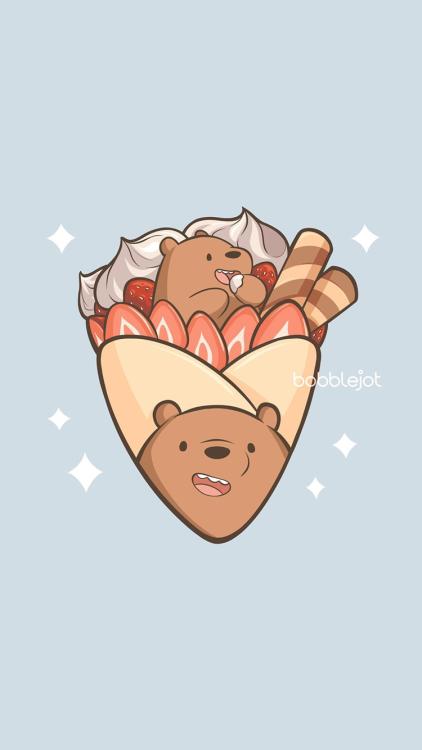 we bare bears wallpaper   Tumblr