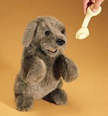 dog puppet - Google Search