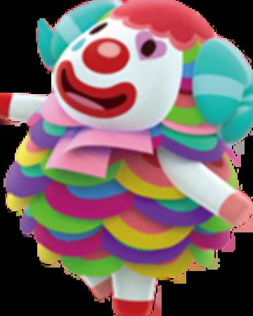 Clowncore In 2020 Animal Crossing Characters Animal Crossing