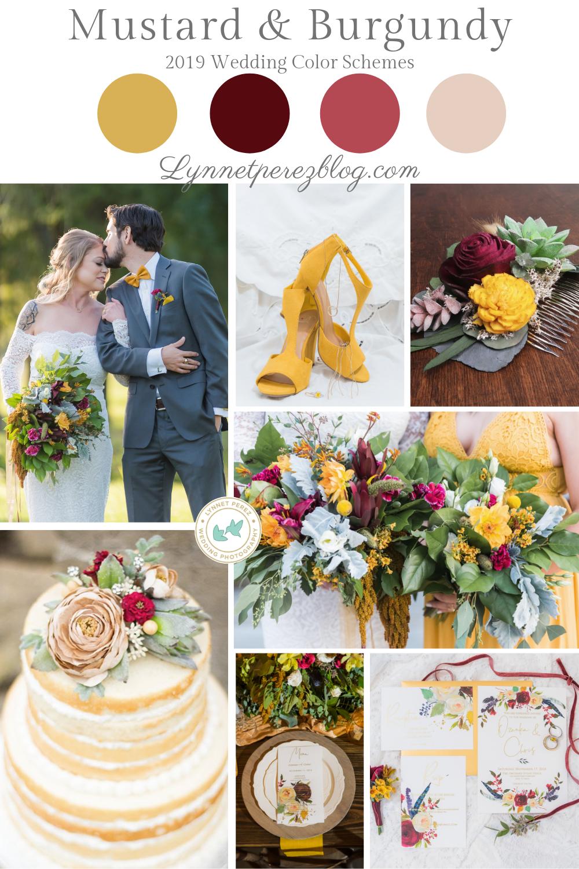 Top 2019 Wedding Color Trends Wedding color trends