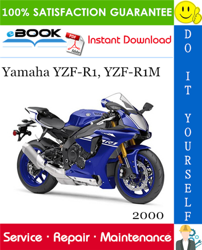 2000 Yamaha Yzf R1 Yzf R1m Motorcycle Supplementary Service Manual Yamaha Yzf Yamaha Yamaha Yzf R1