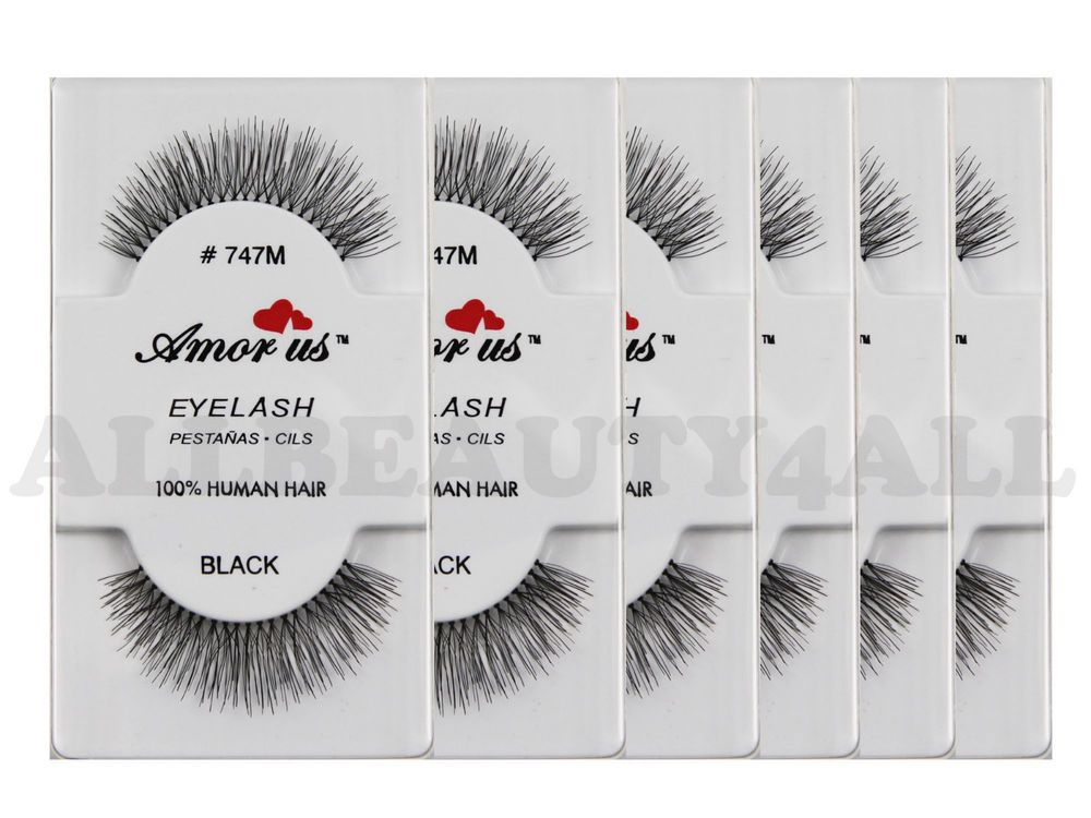 30d5845c132 AmorUs #747M 100% Human Hair False Eyelashes (pack of 6Pairs) compare Red  Cherry | Health & Beauty, Makeup, Eyes | eBay!