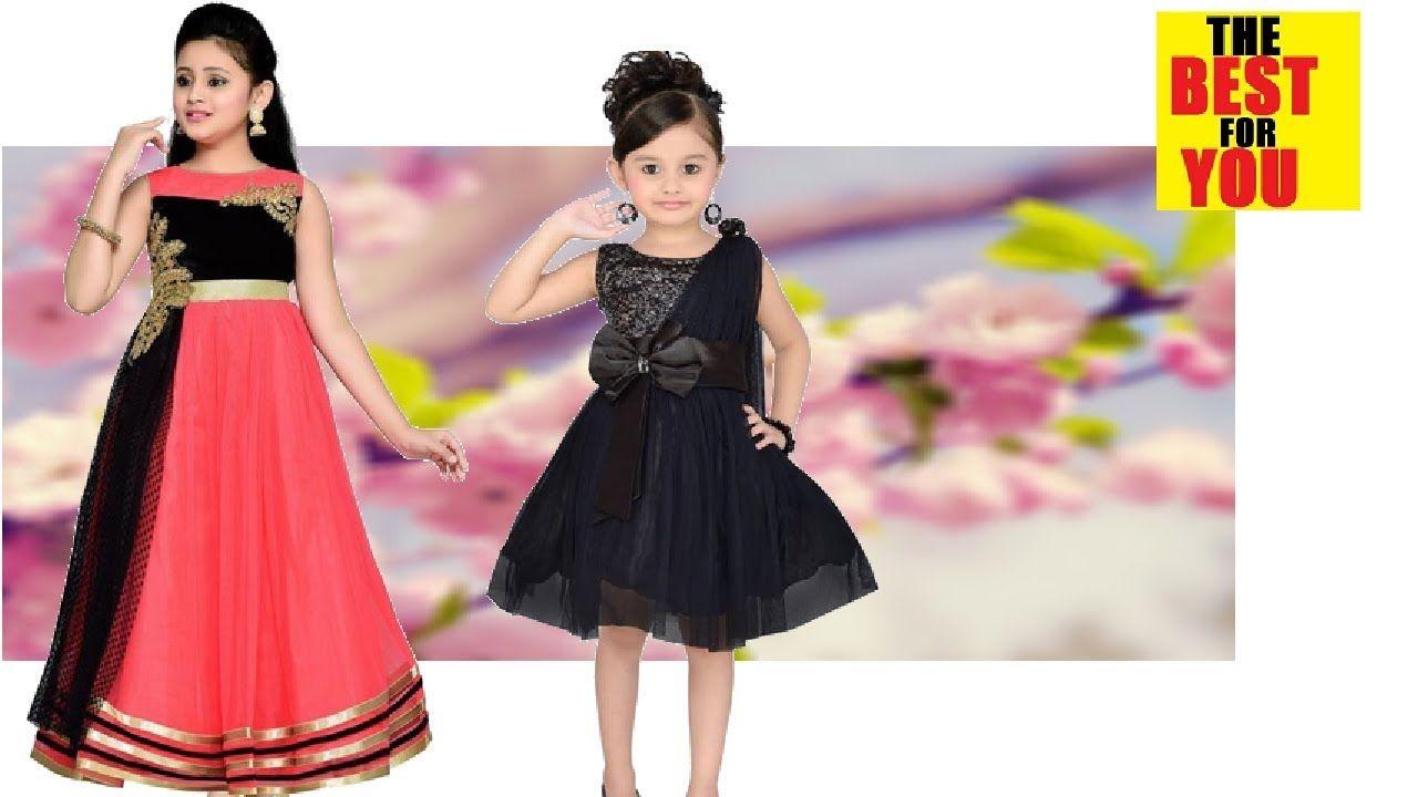 Top Kids Dress Designs For Girl Kids Wear Designs In Flipkart Shopping Dresses Kids Girl Kids Designer Dresses Indian Dresses For Kids