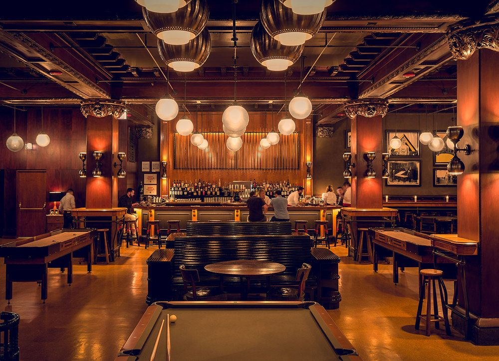 The Game Room Bar At The Chicago Athletic Association Hotel By Roman