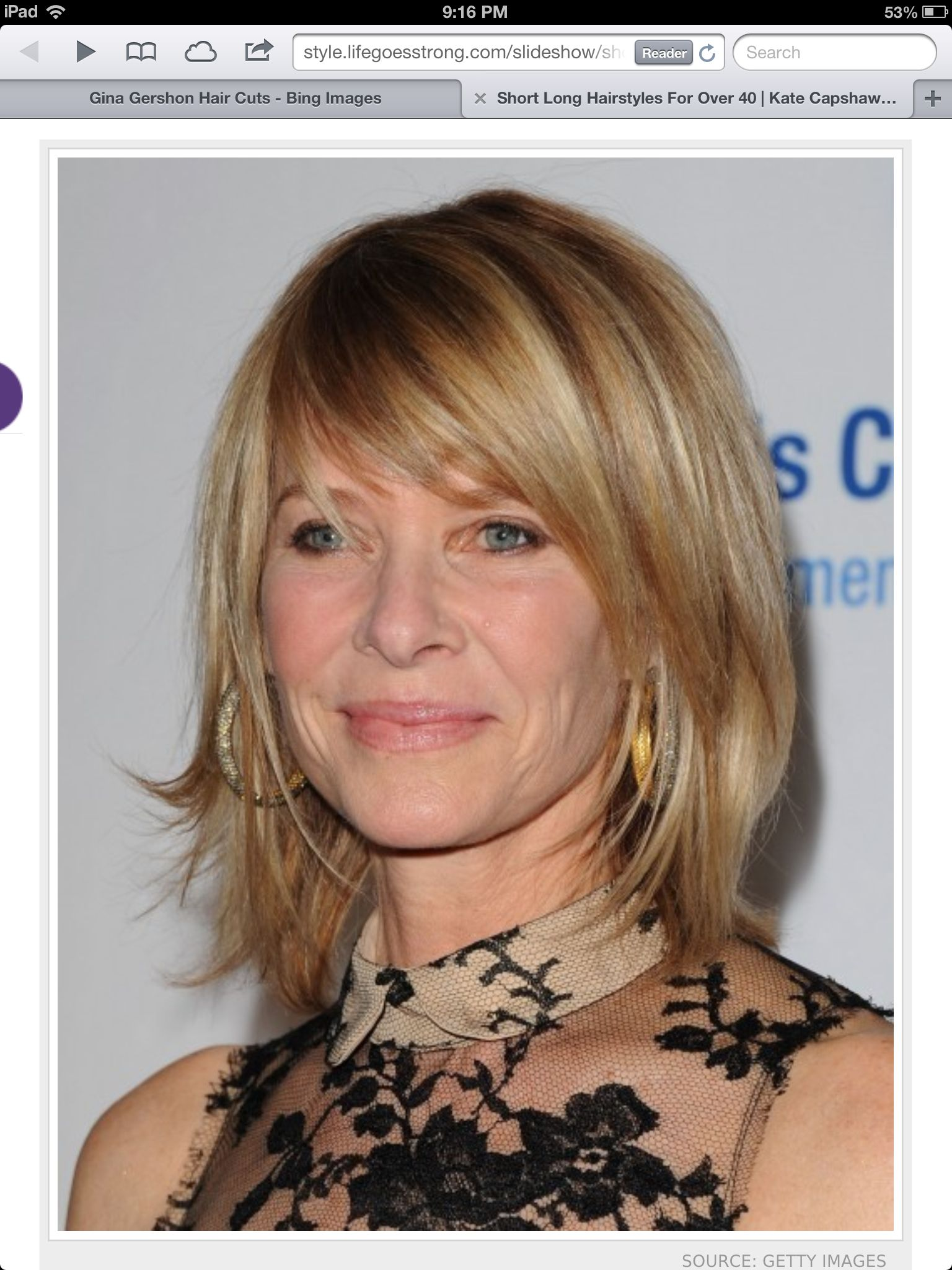 kate capshaw - awesome