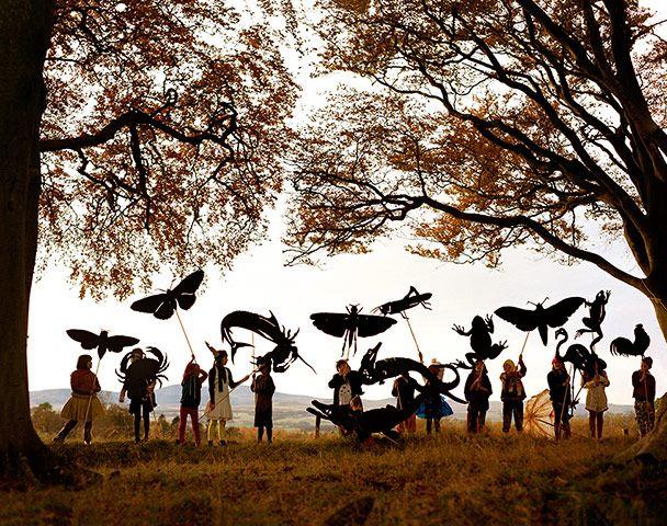 Tim Walker - in pictures: Tim Walker - Eglingham children and silhouettes