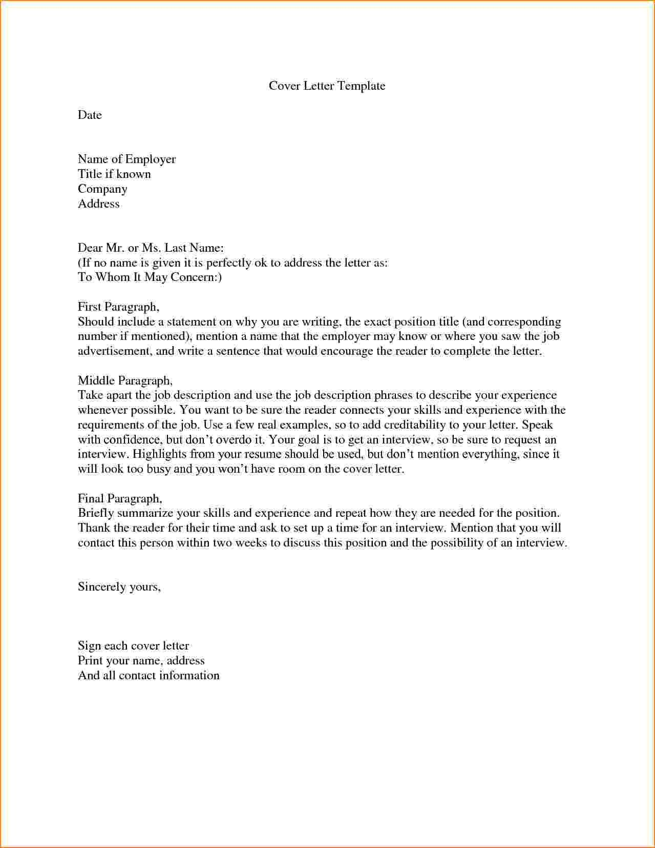 26 Who Do You Address A Cover Letter To Cover Letter Tips