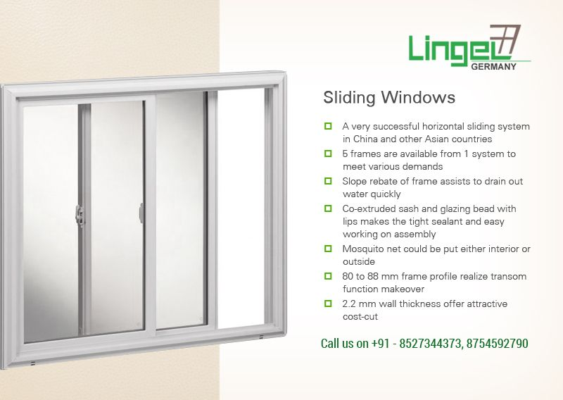 Purchase Sliding Windows Online at Lingel | Lingel Superb Windows ...