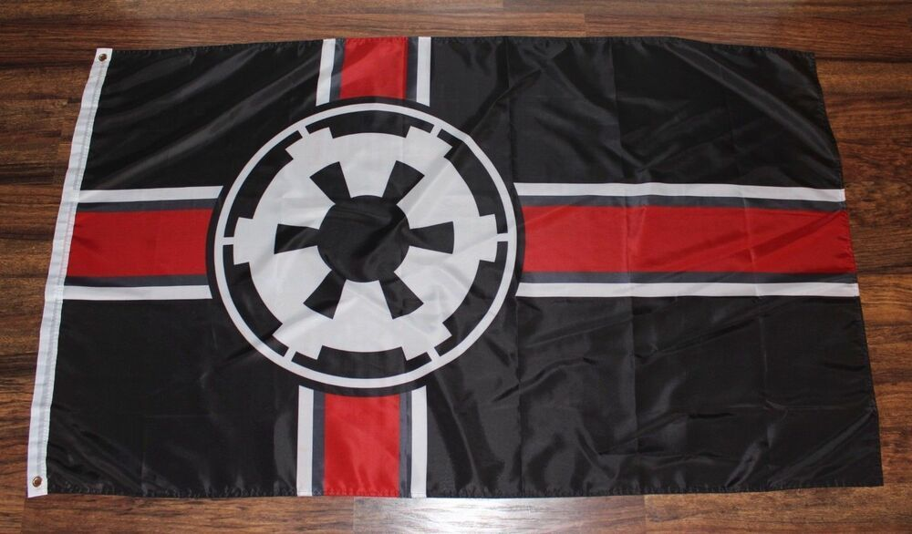 Star Wars Galactic Alliance Imperial Flag Banner Koozie Empire Strikes Back New Home Garden Yard Garden Outdoor Living Star Wars Flag Banners Galactic