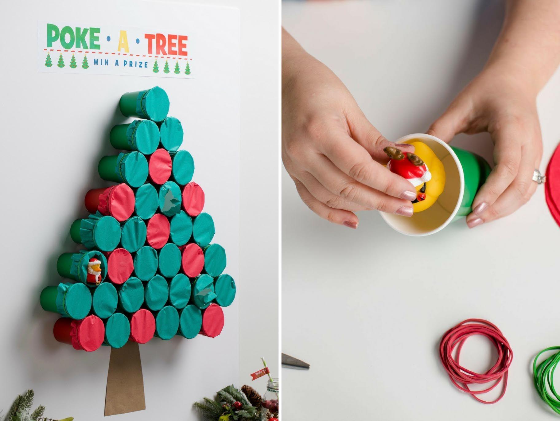 Poke-A-Tree Game Idea   Paint Class Inspiration   Pinterest ...