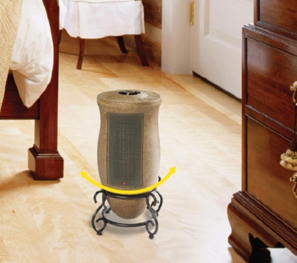 Lasko PORTABLE Oscillating CERAMIC Heater with 2 Quiet