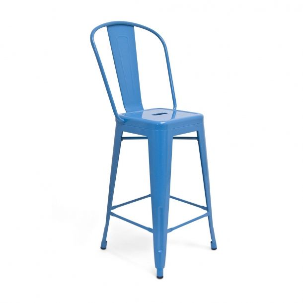 tolix counter stool blue set of 2 bar stool stools and naples