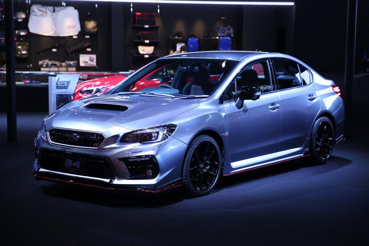 S4 sport# wrx sti Subaru showed