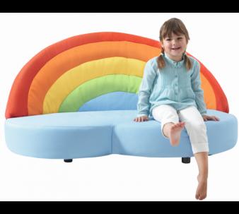 Rainbow Sofa By Haba 112954 Kids Indoor Play Area Kids Indoor