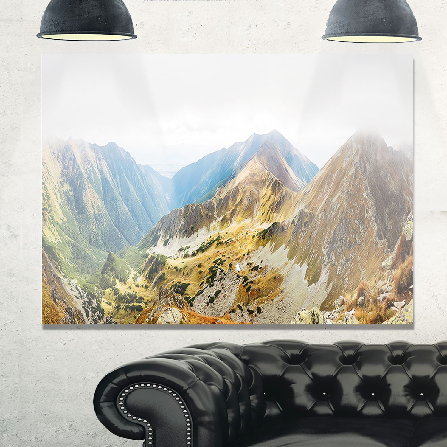 Ostry Rohac and Placlive Peaks - Landscape Glossy