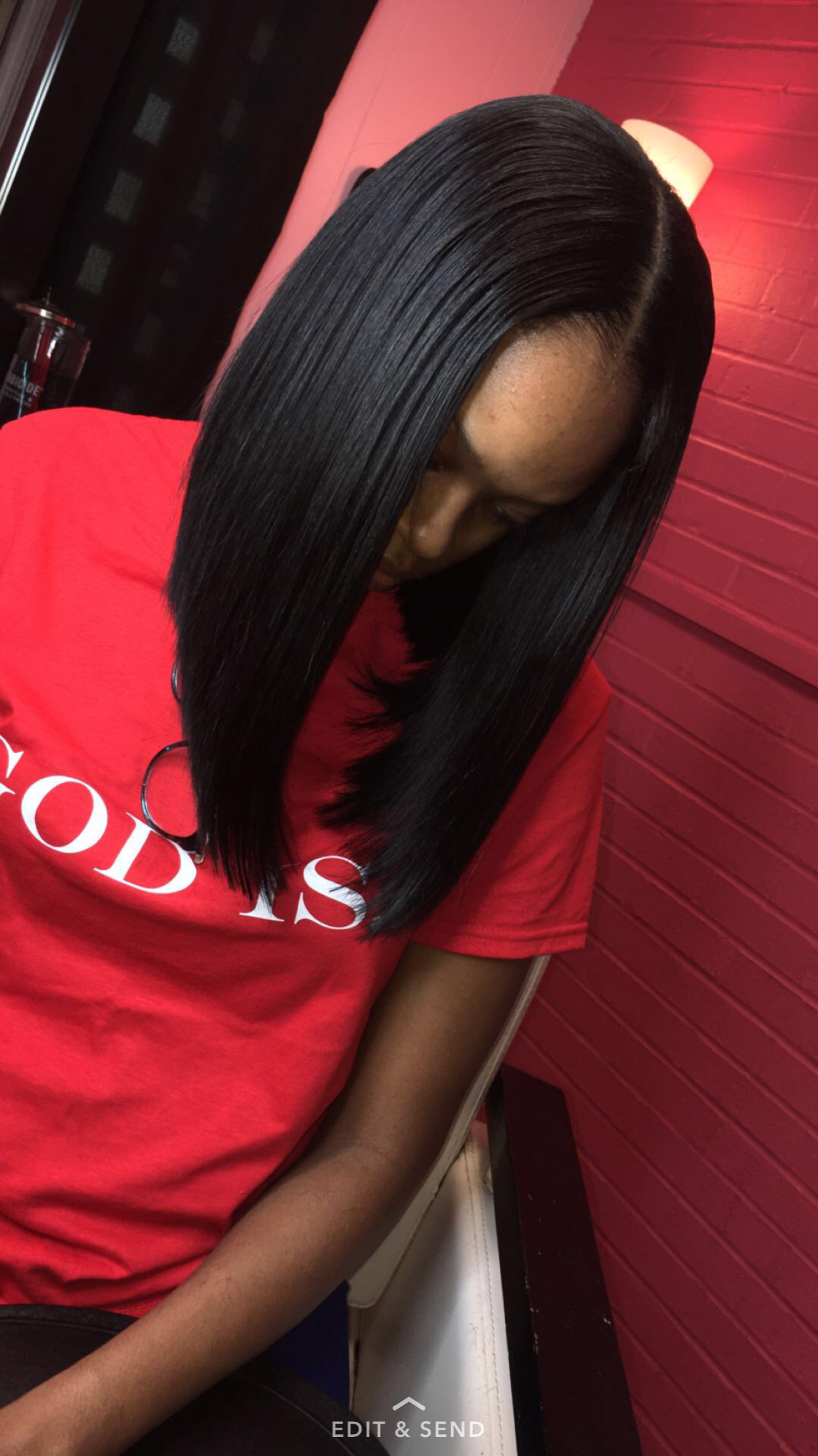 Middle Part Quickweave Bob Hair Styles Remy Human Hair Wigs Quick Weave Hairstyles