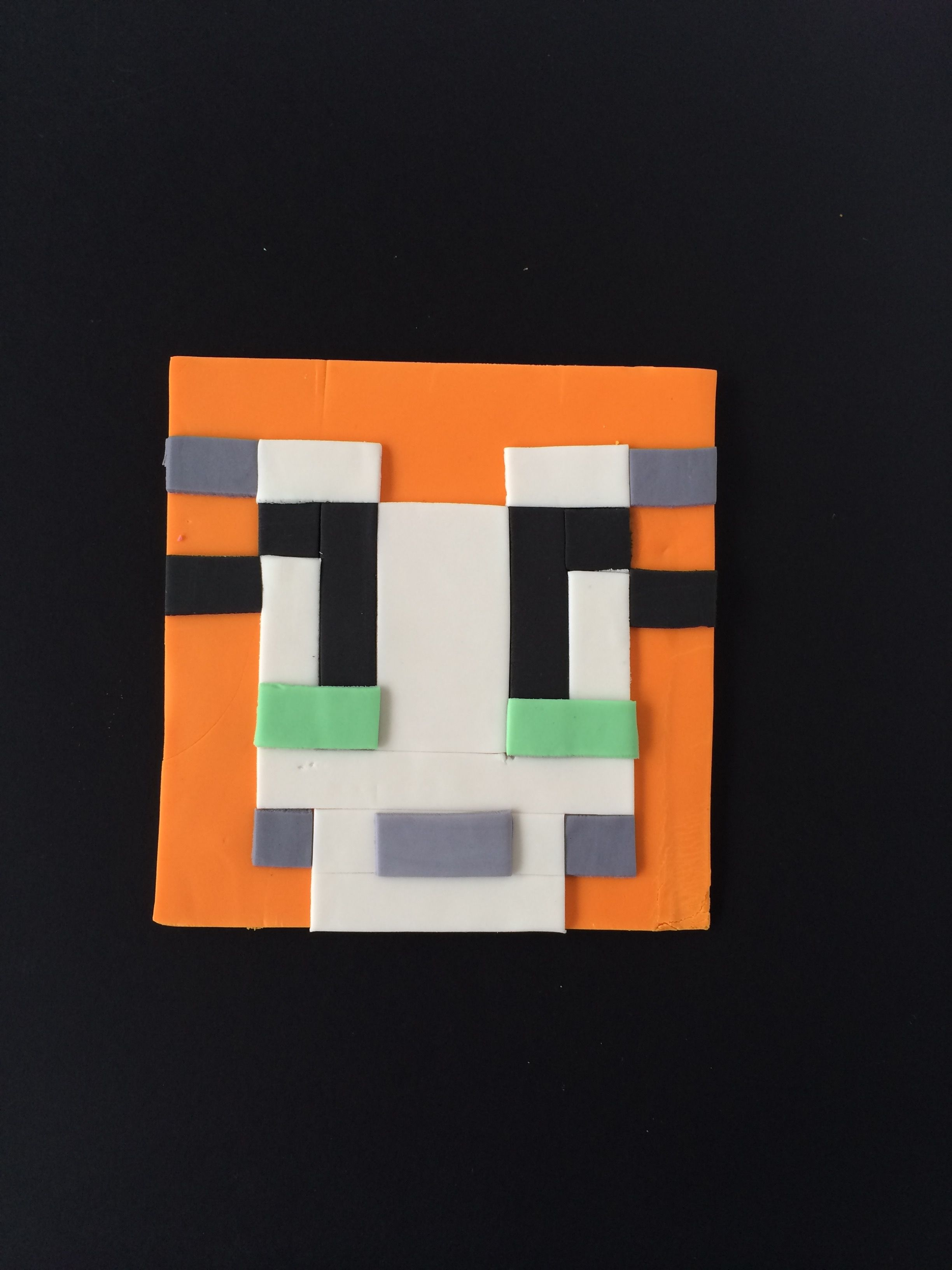 cake minecraft recipe. Custom Fondant Minecraft Stampy Cat Cake Topper Recipe