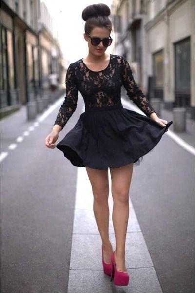 black dress | Fashion