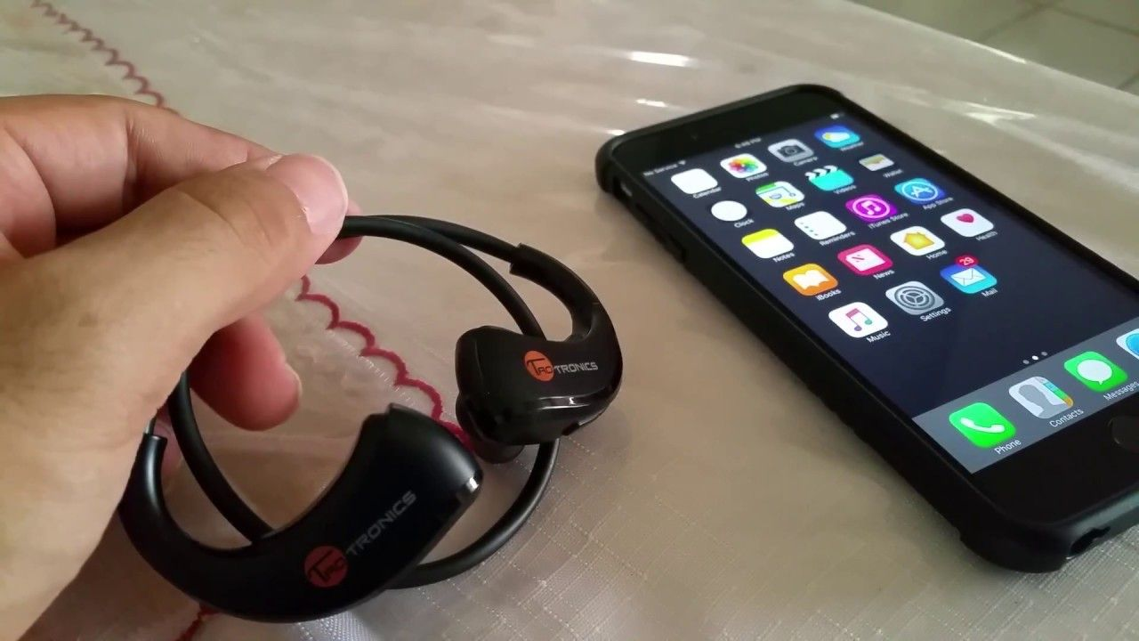 How To Connect Taotronics Sports Headphones To Iphone 6 Plus Sports Headphones Iphone 6 Plus Iphone