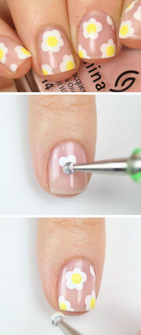 19 Awesome Spring Nails Design for Short Nails   Summer nail art ...
