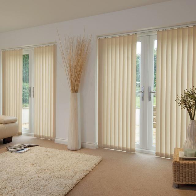 Persianas persianas verticais persiana vertical creme - Persianas y cortinas ...