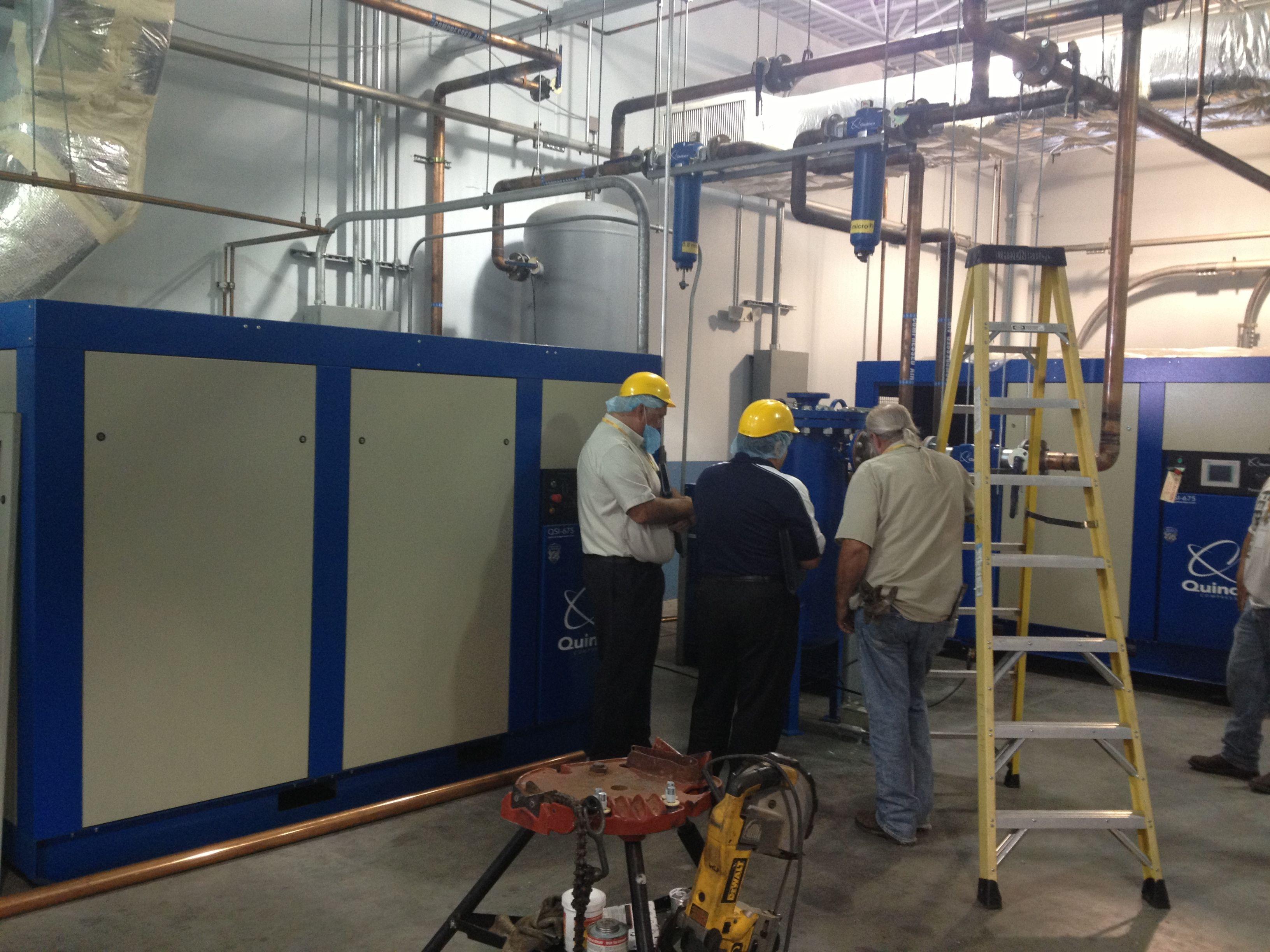 Quincy Compressor Direct installation photo Vacuum pump