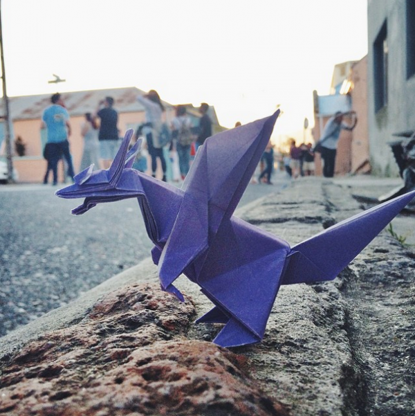 Cool Origami Designs Inspired By Dragons Unicorns And Other